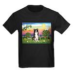 Bright Country/Border Collie Kids Dark T-Shirt