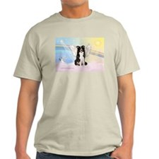 Border Collie Angel T-Shirt