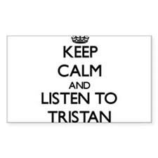 Keep Calm and Listen to Tristan Decal