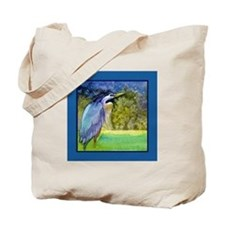 Beautiful Blue Heron Tote Bag