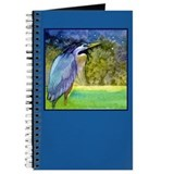 Beautiful Blue Heron Journal