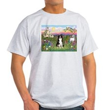 Castle & Border Collie T-Shirt