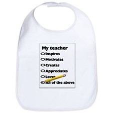 Teacher Appreciation Gifts Bib