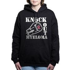 Knock Out Multiple Myelo Women's Hooded Sweatshirt