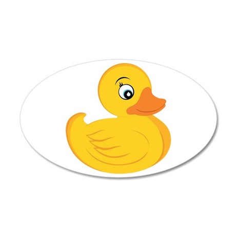 Rubber Ducky Wall Decal