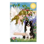 Angel & Border Collie Postcards (Package of 8)