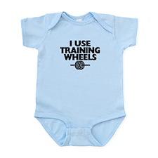 I Use Training Wheels Infant Bodysuit
