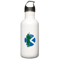 Scottish Piper Sports Water Bottle
