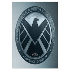 MAOS Brush Metal Shield Wall Art