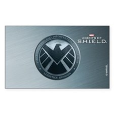 MAOS Brush Metal Shield Decal