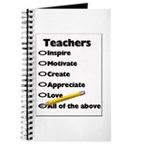 Gifts for Teachers Journal
