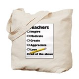 Gifts for Teachers Tote Bag