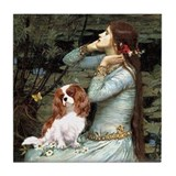 Ophelia &amp; Cavalier Tile Coaster