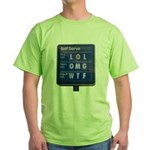 Gas Prices Green T-Shirt