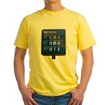 Gas Prices Yellow T-Shirt