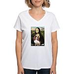 Mona's Cavalier Women's V-Neck T-Shirt
