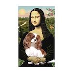 Mona's Cavalier Sticker (Rectangle)