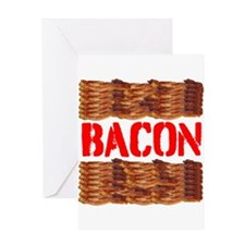 Bacon Greeting Cards