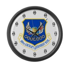 508th Aerospace Sustainment Wing Large Wall Clock