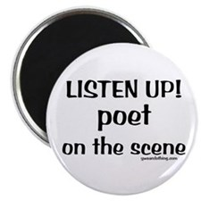 Listen Up! Poetry Magnet