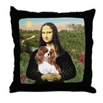 Mona's Cavalier Throw Pillow