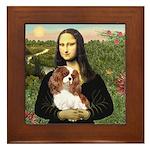 Mona's Cavalier Framed Tile