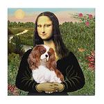 Mona's Cavalier Tile Coaster