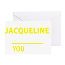 Cute Jacqueline Greeting Card