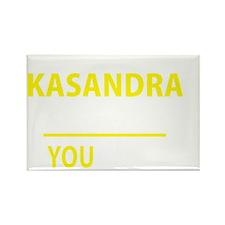 Cute Kasandra Rectangle Magnet