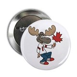 "Canada Moose 2.25"" Button (10 pack)"
