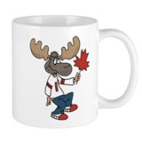 Canada Moose Small Mugs