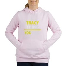 Cute Tracy Women's Hooded Sweatshirt