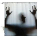 Surrender Silhouette Shower Curtain