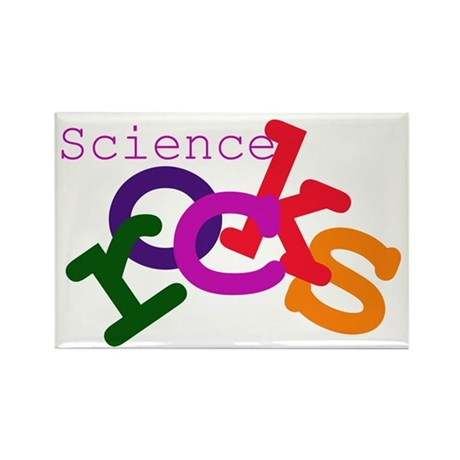 Science Rocks Rectangle Magnet (10 pack)