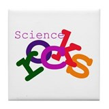 Science Rocks Tile Coaster