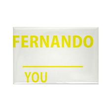 Unique Fernando Rectangle Magnet