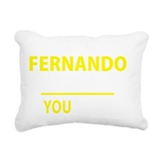 Unique Fernando Rectangular Canvas Pillow