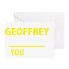 Cute Geoffrey Greeting Card