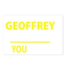 Unique Geoffrey Postcards (Package of 8)