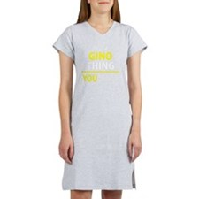 Cool Gino Women's Nightshirt