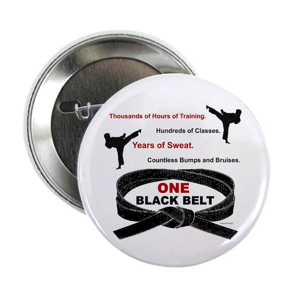 ONE Black Belt 2 Karate Shirts Gifts Merchandise  Unique Karate Gifts