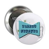 Retro Teacher Gifts Button