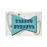 Retro Teacher Gifts Rectangle Magnet