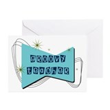 Retro Teacher Gifts Greeting Cards (Pk of 10)