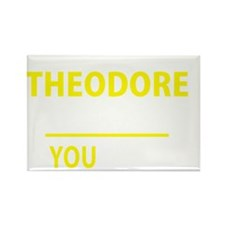 Funny Theodore Rectangle Magnet