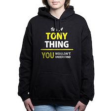 Unique Tony Women's Hooded Sweatshirt