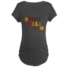Happy Fall Yall! Maternity T-Shirt