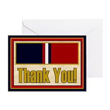 Kosovo Veteran Thank You Greeting Card