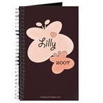 Lilly 2007 Butterfly Heart New Baby Mom Journal