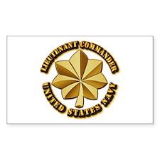 Navy - Lieutenant Comman Decal